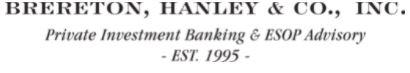 Brereton-Hanley ESOP I-bankers