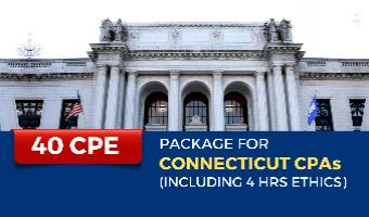 CPE Package for Connecticut CPAs