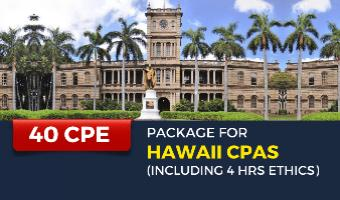 CPE Package for Hawaii CPAs