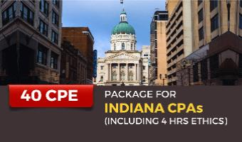 Package for Indiana CPAs (Incl. 4 hrs Ethics)