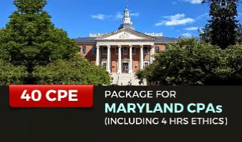 CPE Package for Maryland CPAs