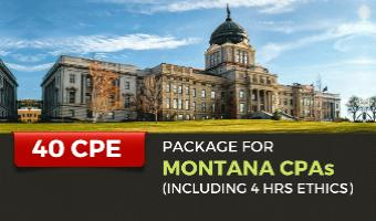 CPE Package for Montana CPAs