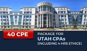 CPE Package for Utah CPAs