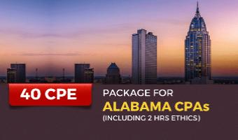 CPE Package for Alabama CPAs