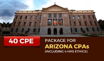CPE Package for Arizona CPAs