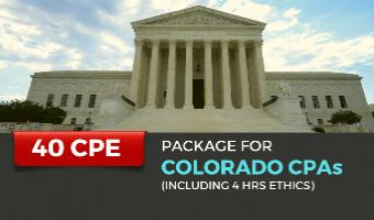 CPE Package for Colorado CPAs