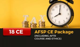 18 CE Package for AFSP