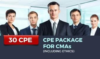 CPE Package for CMAs (Incl. Ethics)