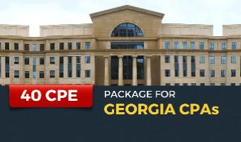 CPE Package for Georgia CPAs