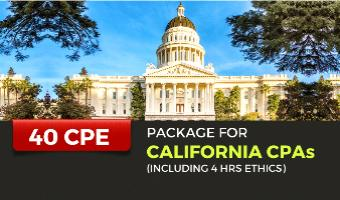 CPE Package for California CPAs