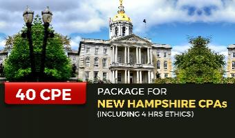 CPE Package for New Hampshire CPAs