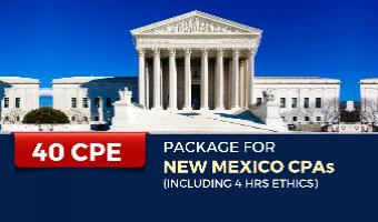 CPE Package for New Mexico CPAs