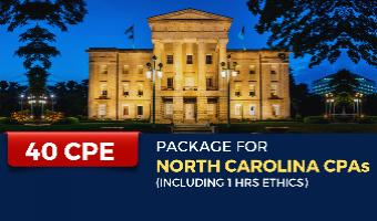CPE Package for North Carolina CPAs