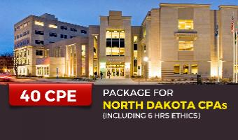CPE Package for North Dakota CPAs