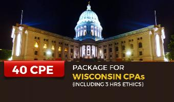 CPE Package for Wisconsin CPAs