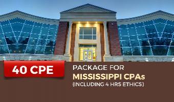 CPE Package for Mississippi CPAs