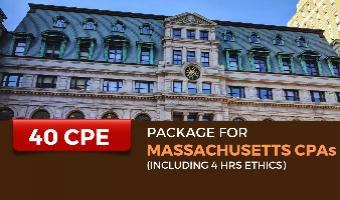CPE Package for Massachusetts CPAs