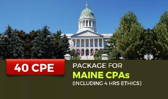 CPE Package for Maine CPAs