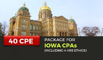 CPE Package for Iowa CPAs