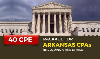 CPE Package for Arkansas CPAs