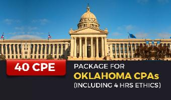 CPE Package for Oklahoma CPAs