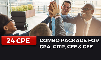 Combo Package for CPA, CITP, CFF & CFE