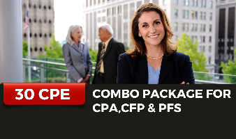 Combo CE Package for CPA,CFP & PFS