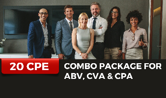 Combo Package for ABV, CVA & CPA