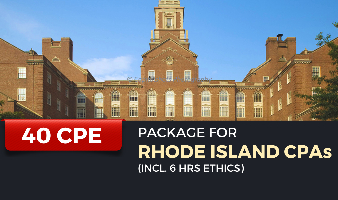 CPE Package for Rhode Island CPAs