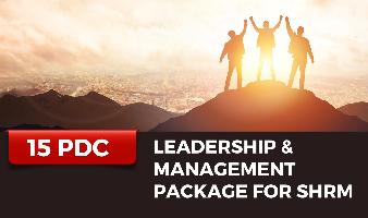 Leadership & Management Package for SHRM