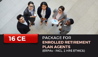 Package for Enrolled Retirement Plan Agents (ERPAs- incl. 2 hrs Ethics)