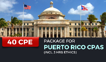 CPE Package for Puerto Rico CPAs