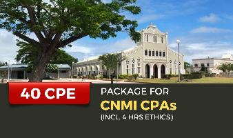 Package for CNMI CPAs(Incl. 4 hrs Ethics)