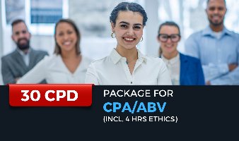 Package for CPA/ABV (Incl. 4 hrs Ethics)