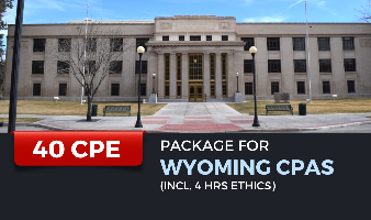 CPE Package for Wyoming CPAs