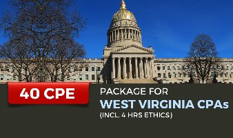 Package for West Virginia CPAs(Incl. 4 hrs Ethics)