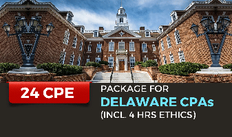 Package for Delaware CPAs (incl. 4 hrs Ethics)