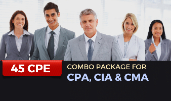 Combo Package for CPA, CIA & CMA