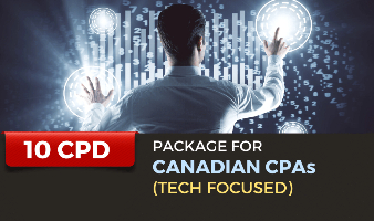 Package for Canadian CPAs (Tech Focused) - 10 CPD