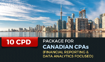 Package for Canadian CPAs (Financial Reporting & Data Analytics Focused) - 10 CPD