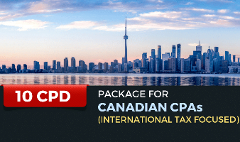 Package for Canadian CPAs (International Tax Focused) - 10 CPD