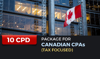 Package for Canadian CPAs (Tax Focused) - 10 CPD