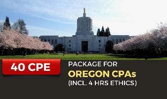 CPE Package for Oregon CPAs