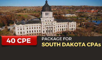 CPE Package for South Dakota CPAs