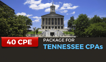 CPE Package for Tennessee CPAs
