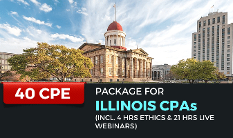 40 CPE Package for Illinois CPAs