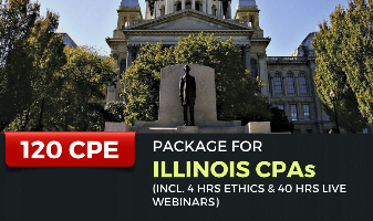 120 CPE Package for Illinois CPAs