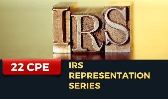 IRS Representation Series
