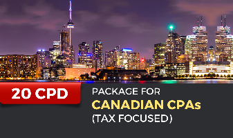 20 CPD Package course for Canadian CPAs