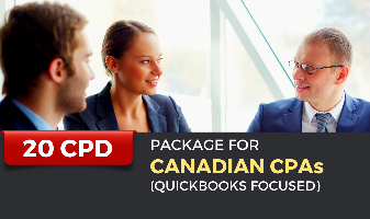 CPD Package for Canadian CPAs (Quickbooks Focused)